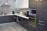 Кухня Антрацит из акрила, фото 1