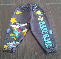 "Штаны для мальчика ""Микки бейсбол"", на 1-4 года"