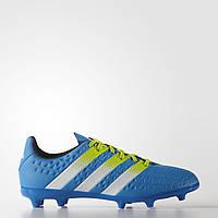 Детские футбольные бутсы Adidas ACE 16.3 FG /AG J AF5156