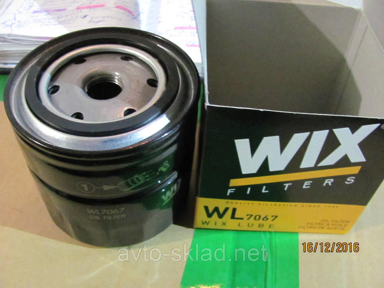 Фильтр масляный ВАЗ 2101, 2102, 2103, 2104, 2105, 2106, 2107 WIX