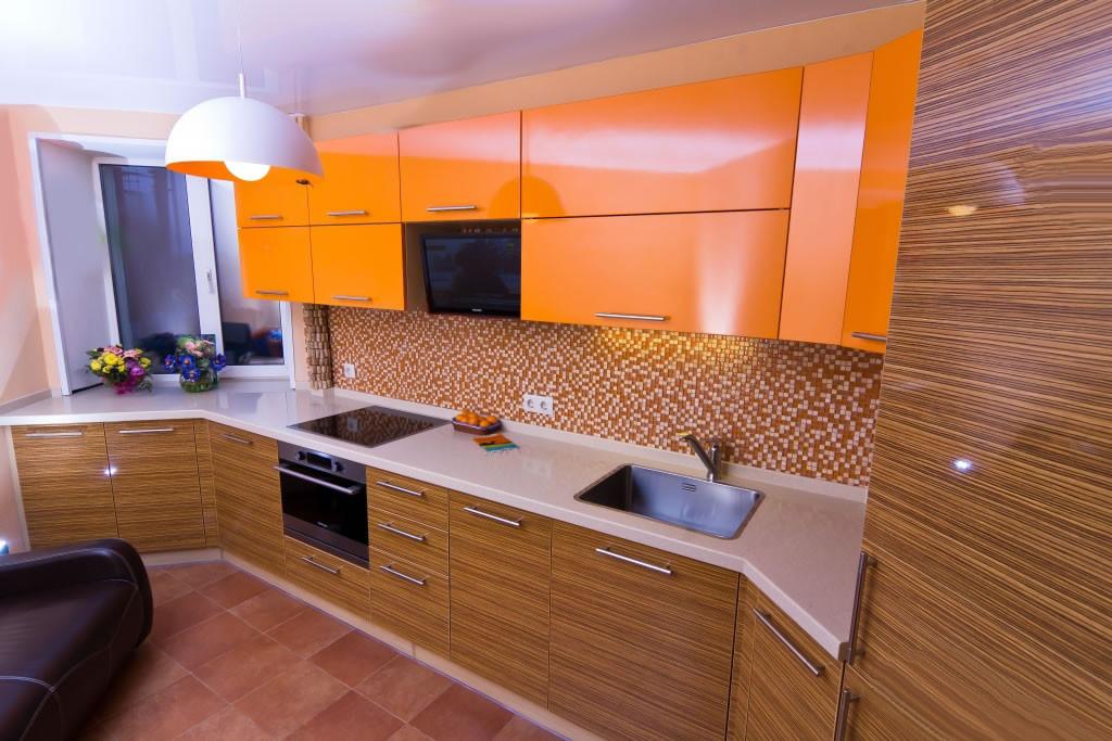 Кухня Сафари из пленочного МДФ