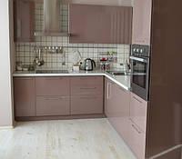 Кухня Капучино из пленочного МДФ, фото 1