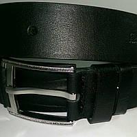 Ремень кожаный Катана гладкий 4см