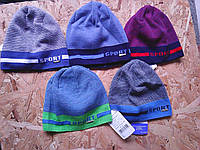 Польская вязанная  шапочка для мальчика