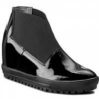 Ботинки кожа Sergio Bardi, р.38 - 24,5см. Женские ботильоны, туфли, фото 1