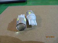Лампы диодные габаритов бесцокольные 6SMD с линзой