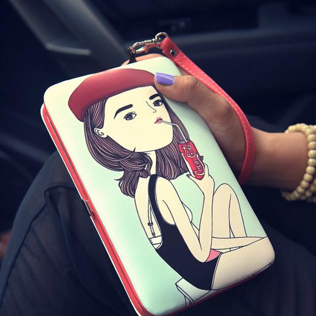 Женская кошелек
