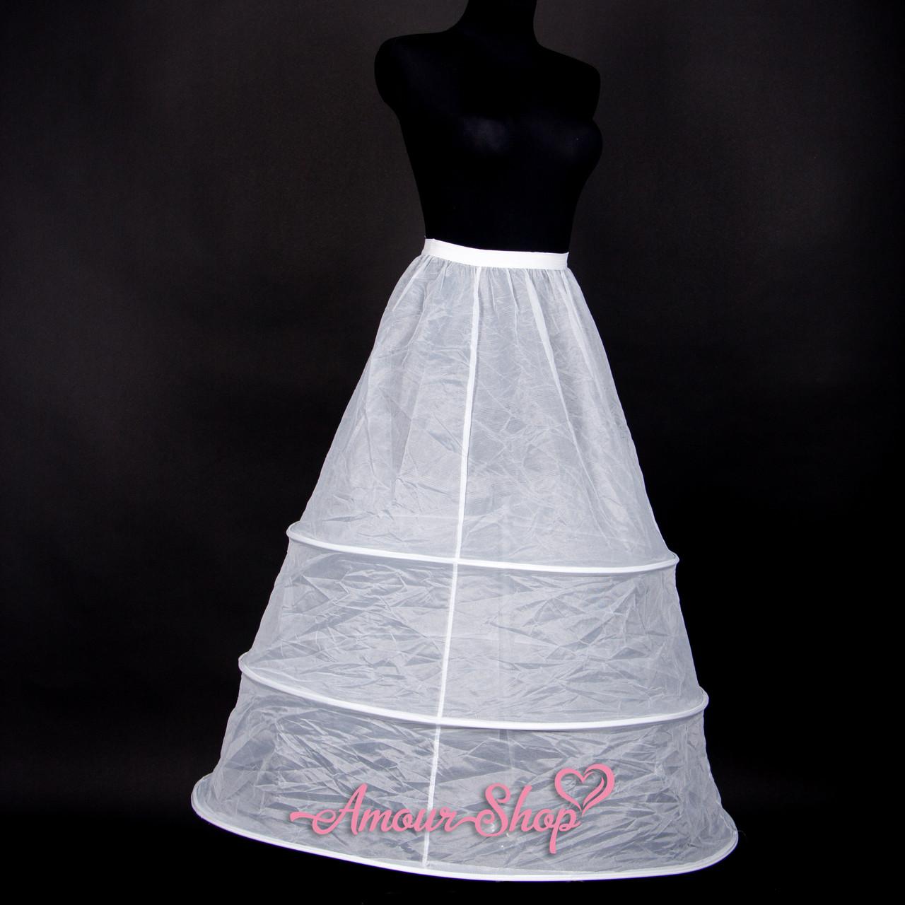 Подъюбник кринолин Р3 под свадебное, вечернее платье