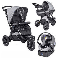 Коляска Chicco Trio Activ3 2017 Dark Grey 3 в 1