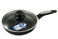 Сковорода с тефлоновым покрытием 24 сантиметра,с крышкой