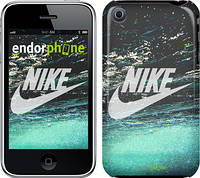 "Чехол на iPhone 3Gs Water Nike ""2720c-34"""