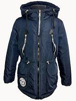 Демисезонная куртка-парка для девочек,размеры 34-42 S467