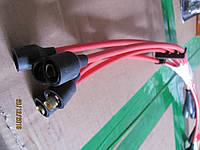 Провода высокого напряжения ВАЗ 2101, 2102, 2103, 2104, 2105, 2106, 2107 нихром Украина к-т 5 шт бронепровода