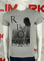Модная мужская футболка Рио