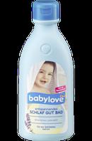 Детское средство для принятия ванн c лавандой Babylove Badezusatz entspannendes Schlaf Gut Bad, 0,5 l