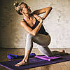 Коврик для йоги PREMIUM VIOLET SPRING YOGA MAT (5мм) американской фирмы Gaiam , фото 4