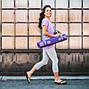 Коврик для йоги PREMIUM VIOLET SPRING YOGA MAT (5мм) американской фирмы Gaiam , фото 5