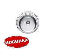Мойка кухонная накладная 490-А Asil-UA decor 0,6 мм