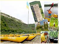 Триденний сплав по річці Дністер Незвисько - Берем'яни - Устечко - Заліщики.