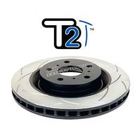 Задний тормозной диск DBA2723S для LC200 , Lexus LX, серия T2 с насечками