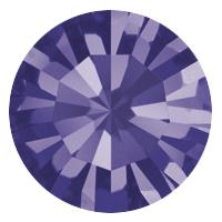 Пришивные стразы в цапах Preciosa (Чехия) Purpl Velvet/серебро