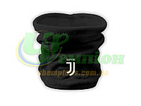 Флисовый горловик-шапка, бафф, гейтор Ювентус (новый логотип) черный
