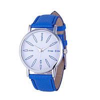 Стильные оригинальные женские часы, синие