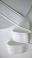 Резинка декоративная 35мм, белая