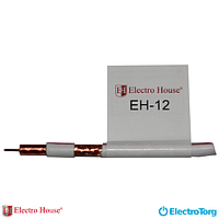 Провід TV EH-12 (мідь) ЕС ГОСТ наконечник+экран