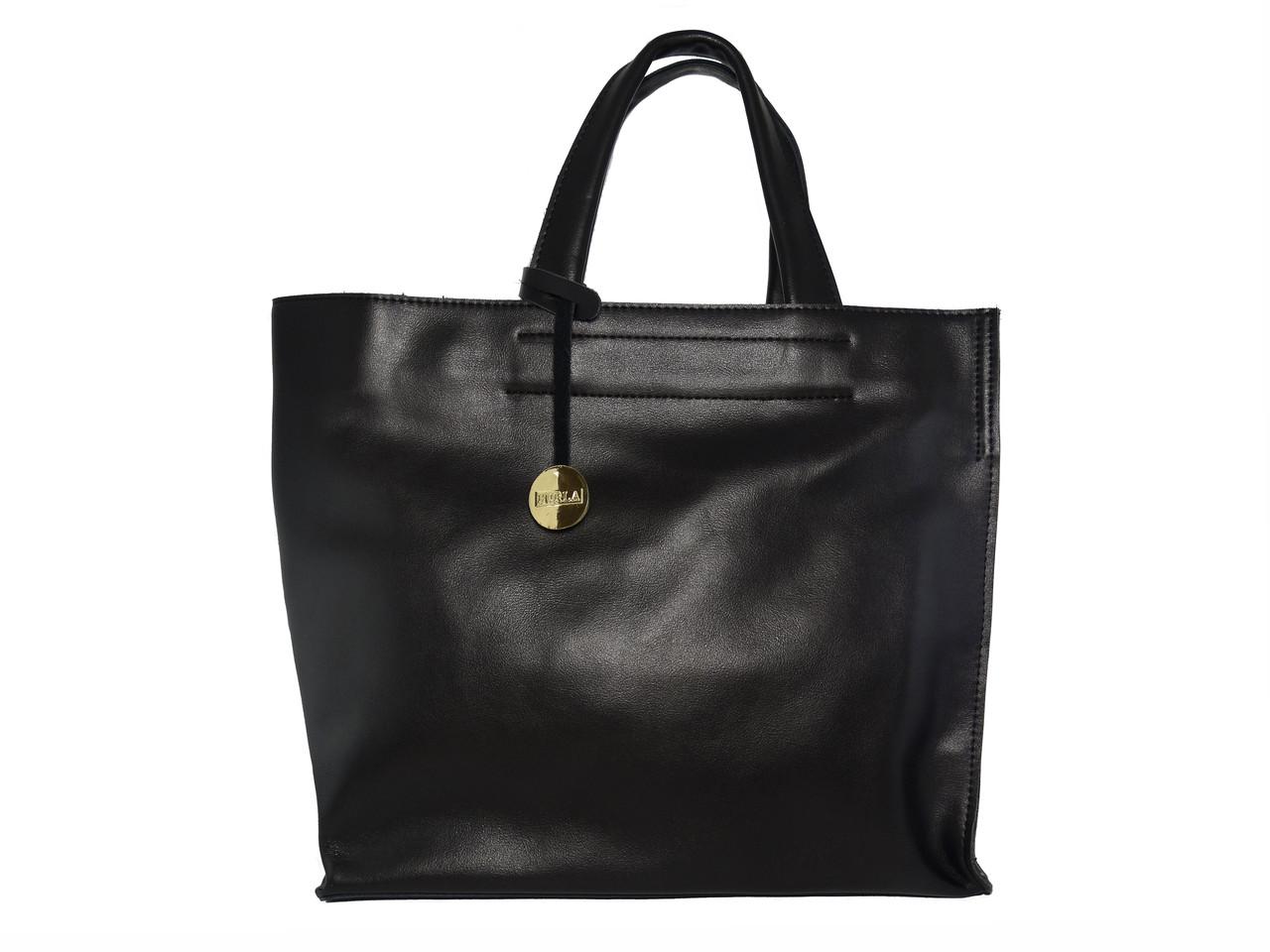 Женская кожаная сумка в стиле Фурла (гладкая) №F222 - Грани в Одессе