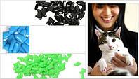 Антицарапки на когти, Силиконовые колпачки, мягкие когти для Кошек