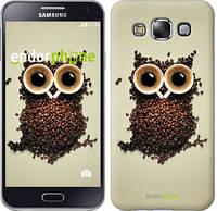 """Чехол на Samsung Galaxy E5 E500H Сова из кофе """"777c-82"""""""