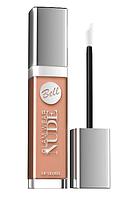 Кремовый, полупрозрачный блеск для губ Bell Glam Wear NUDE № 01, фото 1