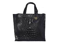 Женская кожаная сумка в стиле Фурла (кроко) №F222