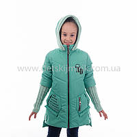 """Детская  куртка  демисезонная для девочки """"Адель"""" с капюшоном,новинка 2017года, фото 1"""