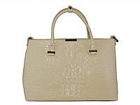 Женская кожаная сумка в стиле Victoria Beckham №030