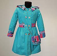 Детское пальто на девочку от 2-7 лет