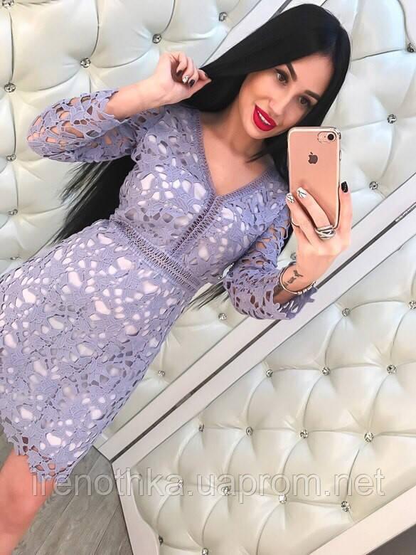 Стильное кружевное платье - ИРЕНА в Харькове