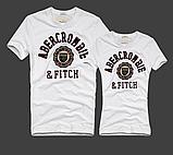 Abercrombie & Fitch original Мужские и Женские футболки 100% хлопок, фото 2