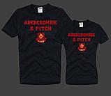 Жіночі та Чоловічі футболки 100% бавовна A&F, фото 3