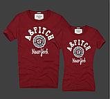 Abercrombie & Fitch original Мужские и Женские футболки 100% хлопок, фото 4