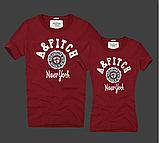 Жіночі та Чоловічі футболки 100% бавовна A&F, фото 4
