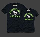 Abercrombie & Fitch original Мужские и Женские футболки 100% хлопок, фото 5
