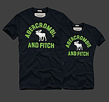 Жіночі та Чоловічі футболки 100% бавовна A&F, фото 5