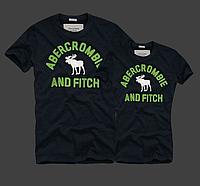 Abercrombie & Fitch original Мужские и Женские футболки 100% хлопок