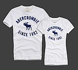 Abercrombie & Fitch original Мужские и Женские футболки 100% хлопок, фото 6
