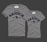 Жіночі та Чоловічі футболки 100% бавовна A&F, фото 7