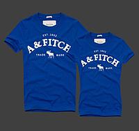 Abercrombie & Fitch original Женские и Мужские футболки 100% хлопок, фото 1