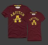 Abercrombie & Fitch original Мужские и Женские футболки 100% хлопок, фото 10
