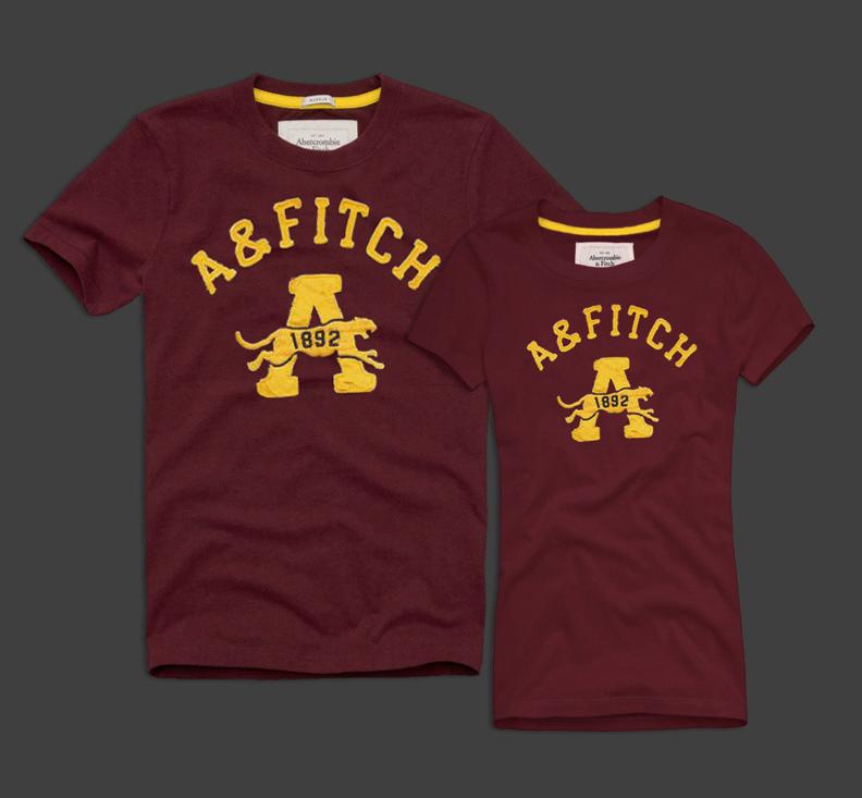 Женские и Мужские футболки 100% хлопок A&F